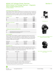 Controls Catalog Siemens and Furnas nds Contactors on