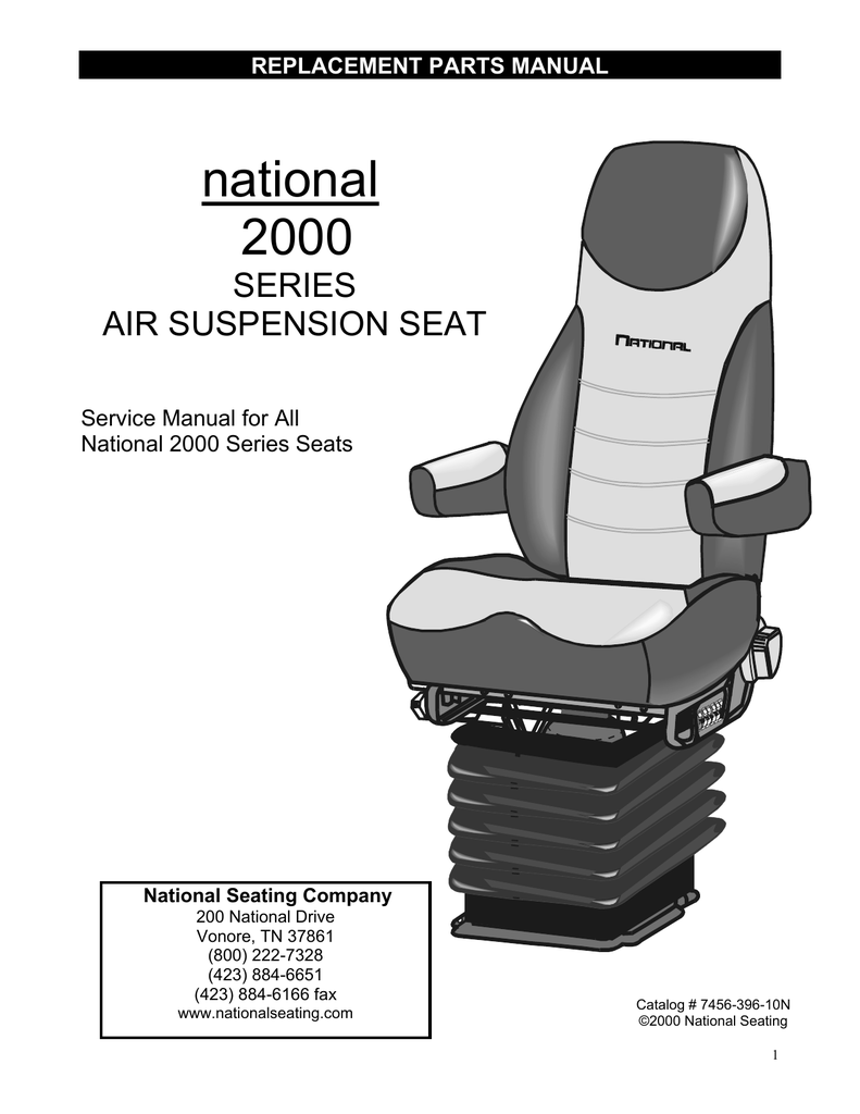 National 2000 seat parts diagram seat auto parts catalog for Roca 20 20f manual