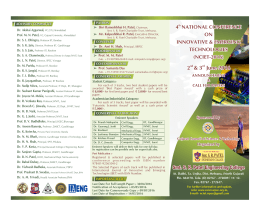 E-Brochure - About SRPEC - Smt. SR Patel Engineering College