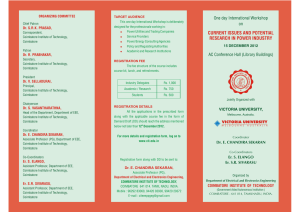 Brochure - Coimbatore Institute of Technology