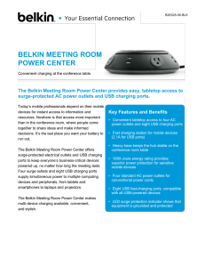 belkin meeting room power center