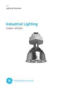 GE Indoor Lighting Fixtures High Bay Industrial Versabeam on