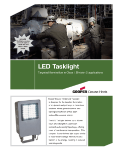 LED Tasklight sell sheet new