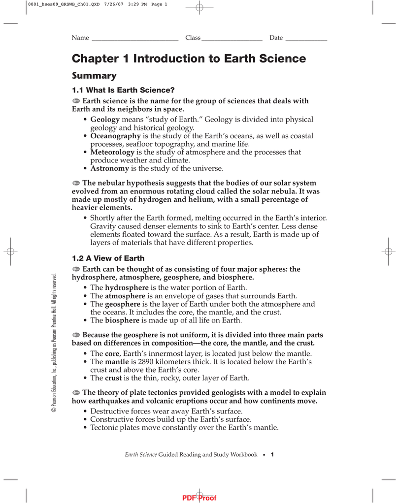 pearson education chemistry worksheet answers chapter 1 - 100 ...