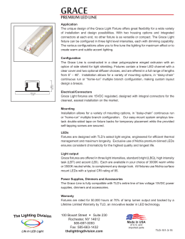 PREMIUM LED LINE - The Lighting Division