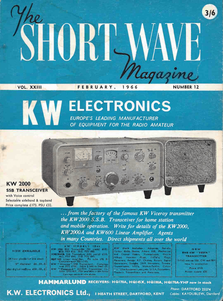 short wabe - American Radio History