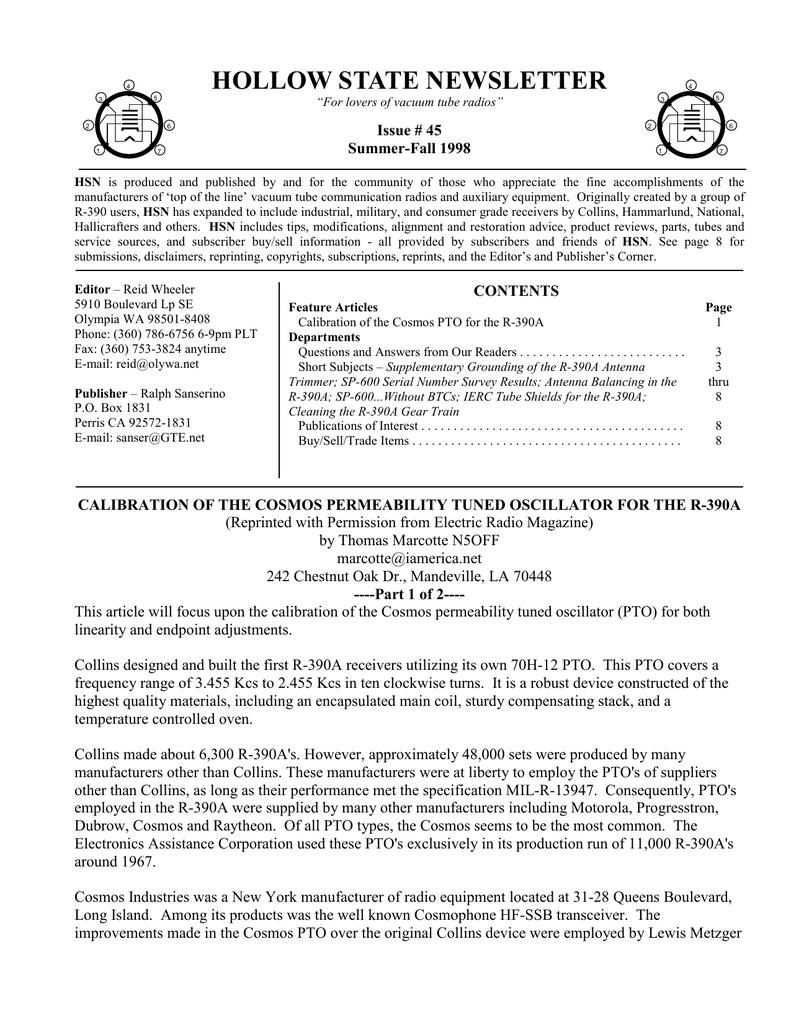 hsn-issue 45 - US Navy Radio Communications