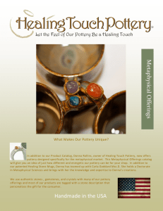 HERE - Healing Touch Pottery