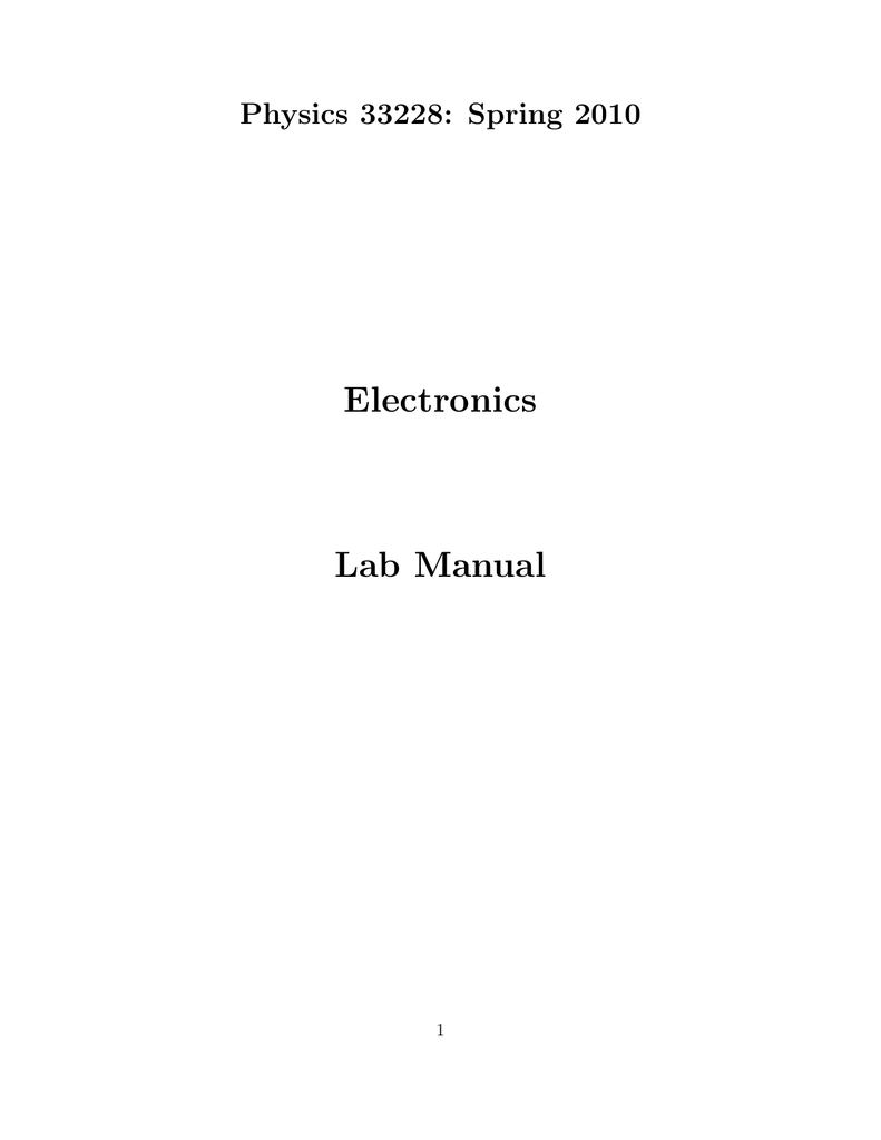 Electronics Lab Manual The Left Opamp In Circuit Is An Inverting Summer Integrator