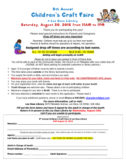 Join the Los Osos Public Library`s 1st Annual Children`s Craft Fair