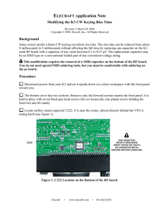 Elecraft KXIO2 Real Time Clock and Control Interface