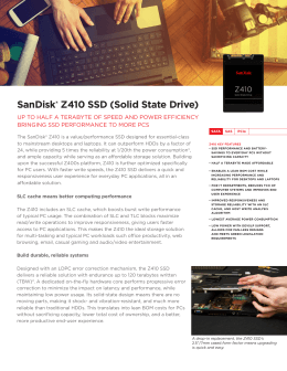 SanDisk® Z410 SSD (Solid State Drive)