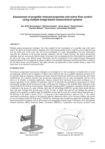 Assessment of propeller induced properties and active flow control