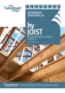 hyJOIST - CHH Woodproducts New Zealand