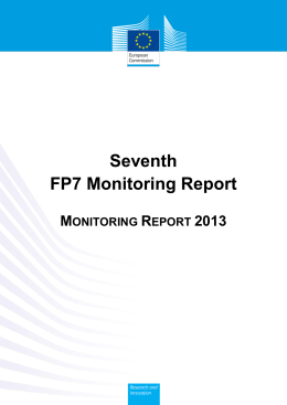 Seventh FP7 Monitoring Report