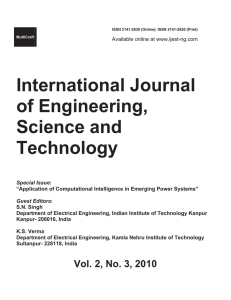 Whole Issue - International Journal of Engineering, Science and