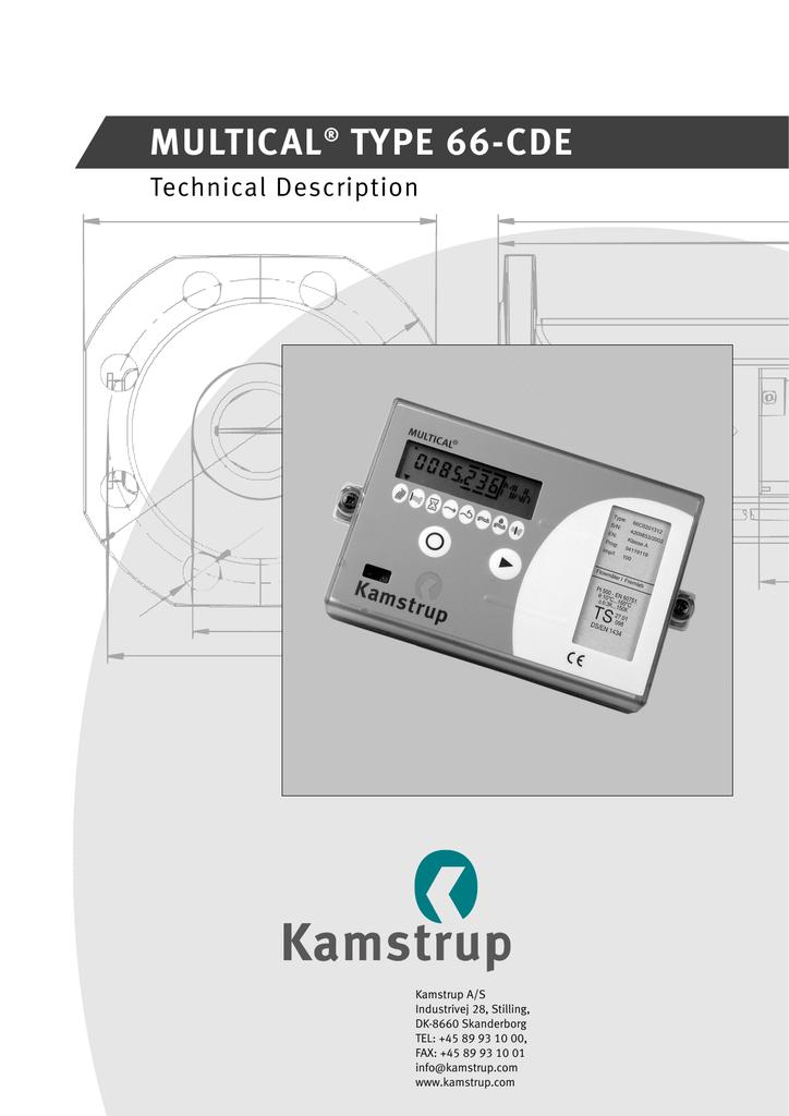 Kamstrup  Power Supply 230 VAC To 3.6 VDC