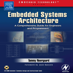 Embedded Systems Architecture : A Comprehensive Guide for