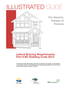 Illustrated Guide for Seismic Design of Houses