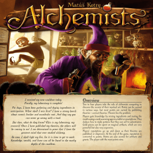 Alchemists - Czech Games Edition