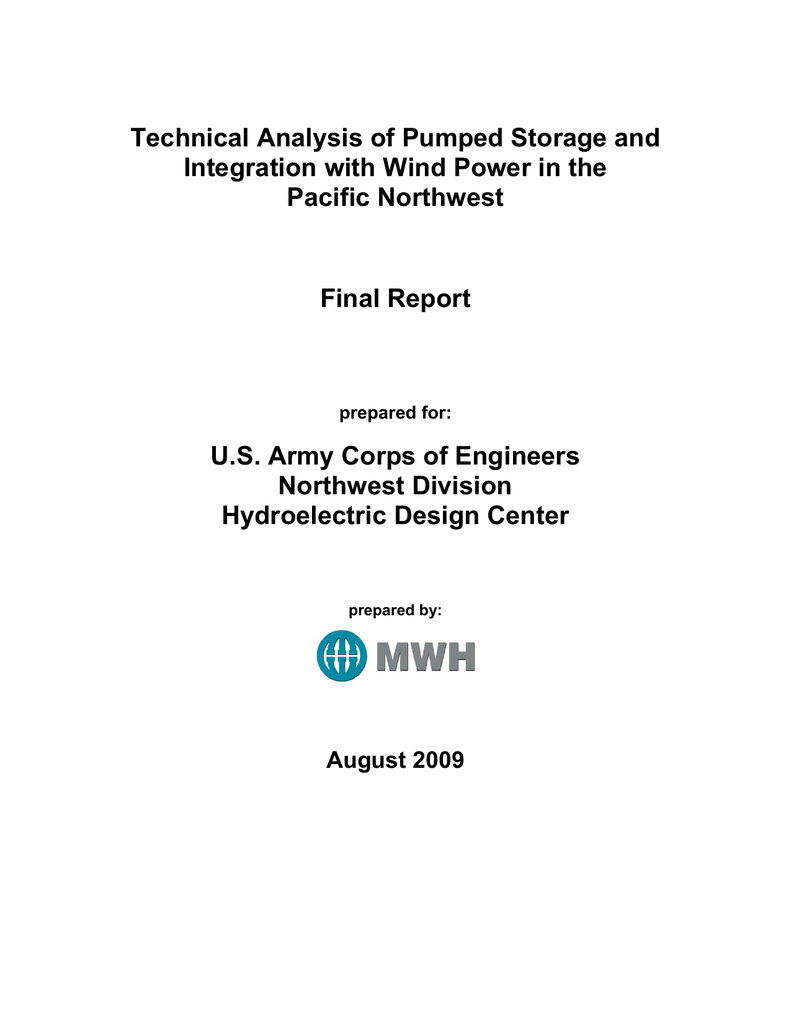 Technical Analysis Of Pumped Storage And Integration With Wind 1992preludeairconditionercircuitdiagramthumbpng