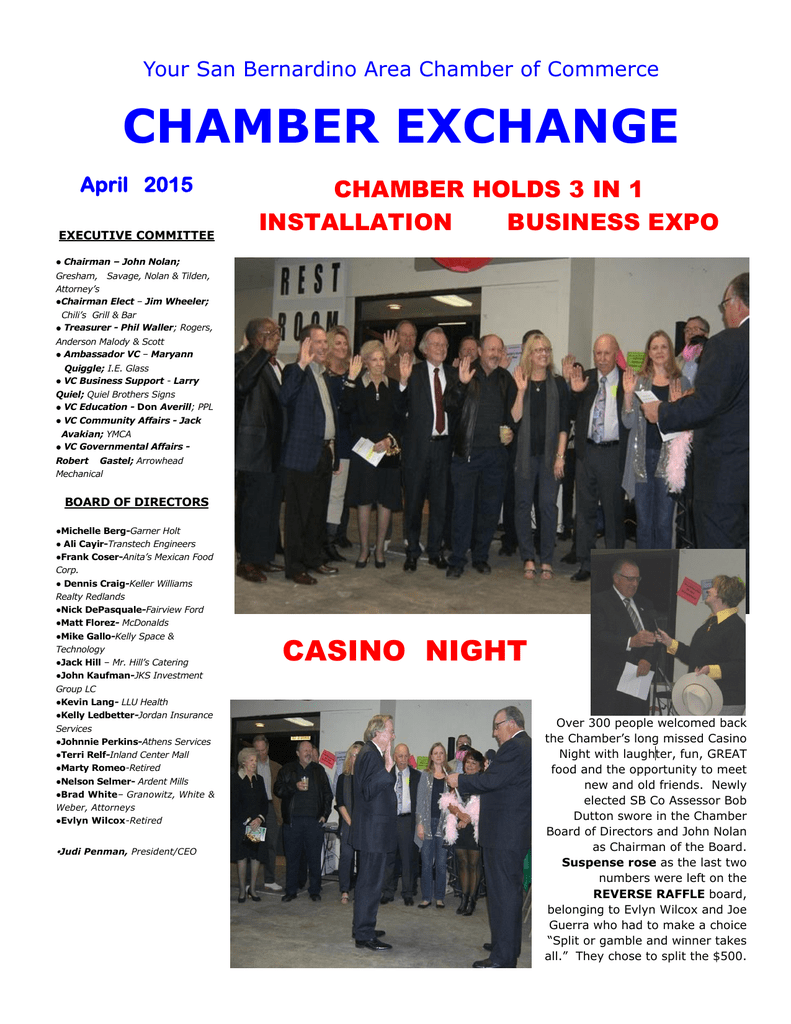 Read the latest Chamber Exchange