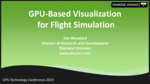 GPU-Based Visualization for Flight Simulation