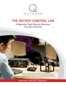 the rotary control lab