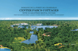 center parcs cottages