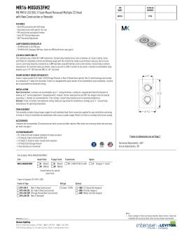 MR16-MXGU53FM2 - Intense Lighting  sc 1 st  studylib.net & MR16-MXGU10RTL2 - Intense Lighting azcodes.com