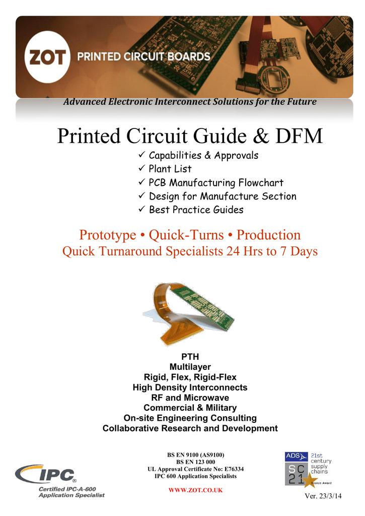 Zot Printed Circuit Guide