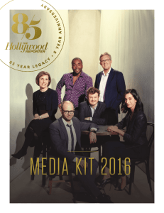 media kit 2016 - Hollywood Reporter
