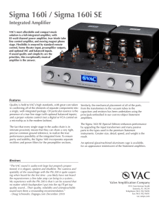 Product Brochure - Vac-Amps