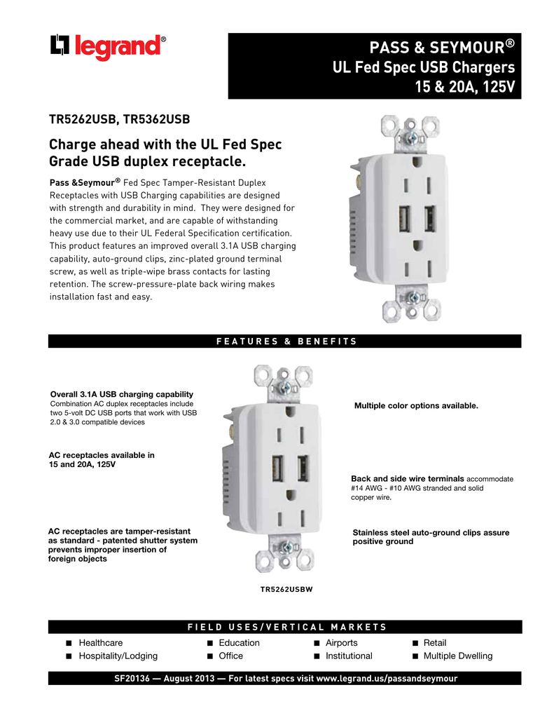 Detailed Specifications Cooper Electric Supply Wiring Devices 15 Amp Decorator Usb Charging Electrical Outlet