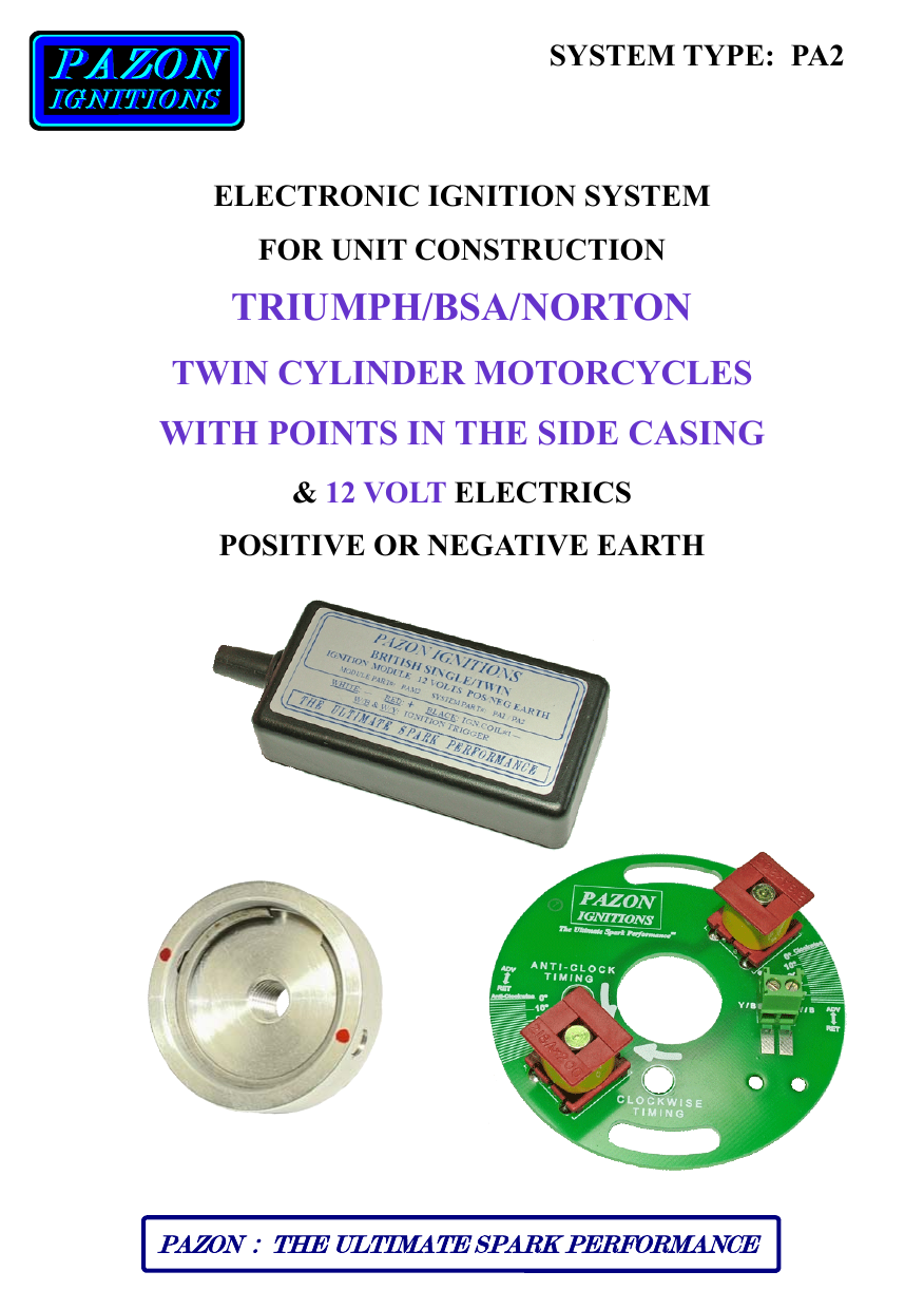 instructions - british cycle supply on payne wiring diagram, page wiring  diagram, sparx wiring triumph