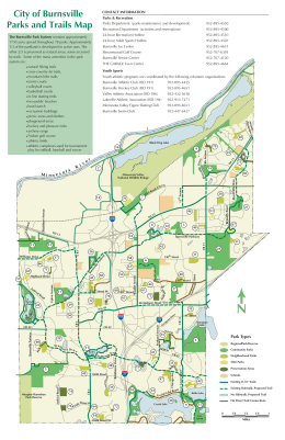 City of Burnsville Parks and Trails Map
