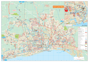 Hull Cycle map - Hull City Council