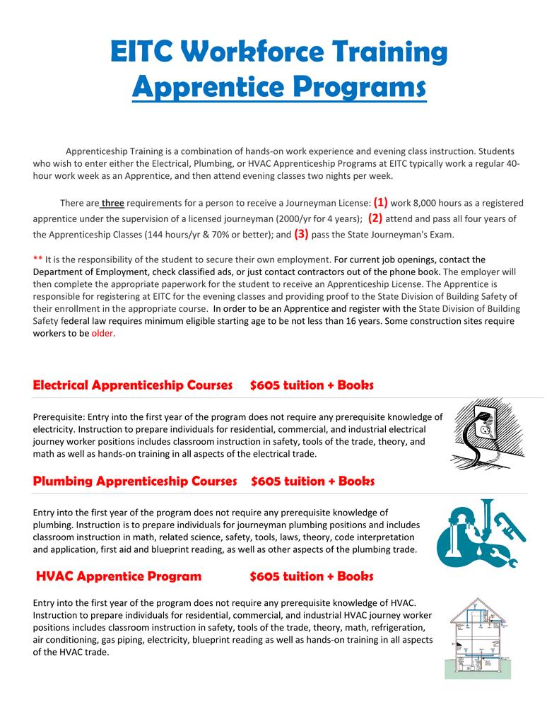 Apprenticeship Flyer