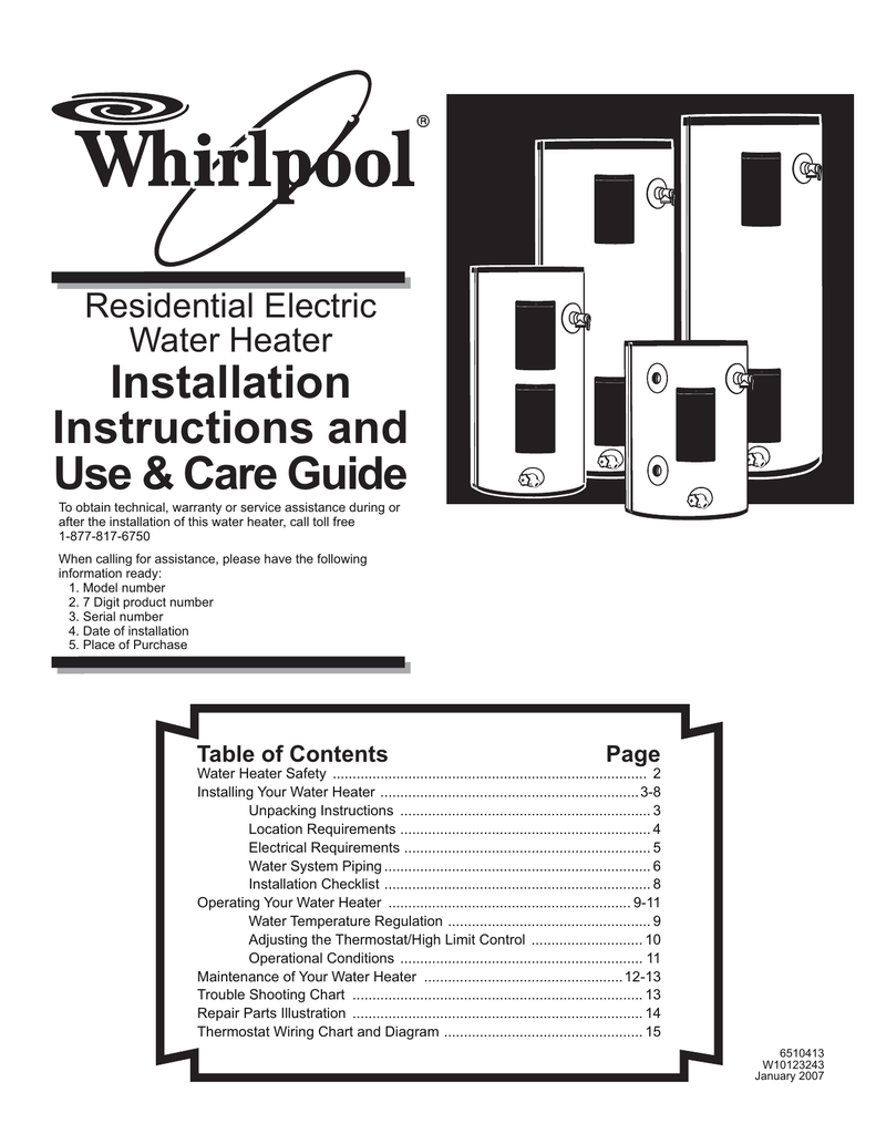 Electric Water Heater Controller And High Limit Wiring Diagram from s2.studylib.net