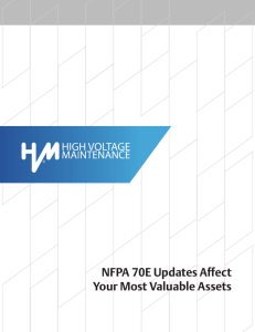 NFPA 70E Updates Affect Your Most Valuable Assets