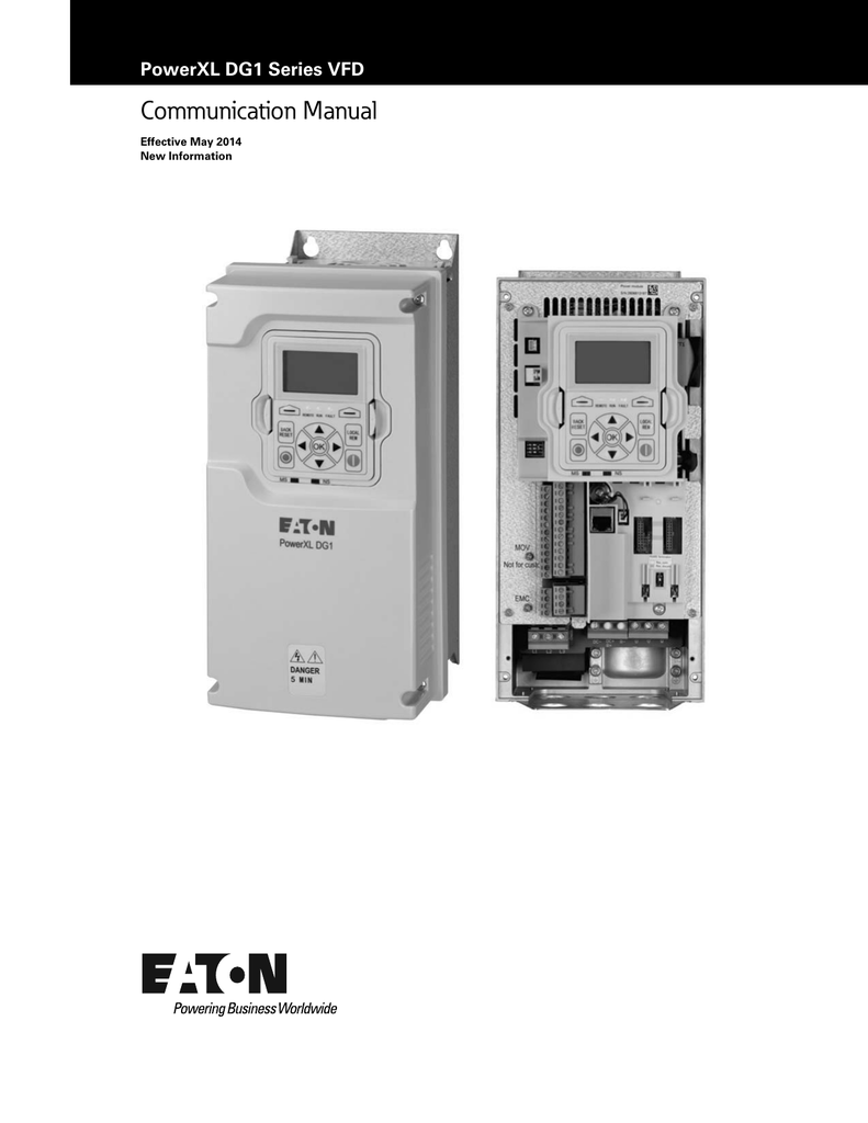 Communication Manual Eaton Vfd Wiring Diagram