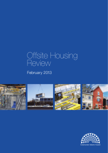 Offsite Housing Review - Oxford Brookes University