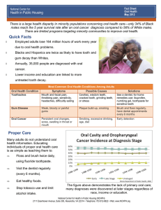 Oral Health - National Center for Health in Public Housing