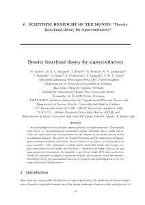 Density functional theory for superconductors