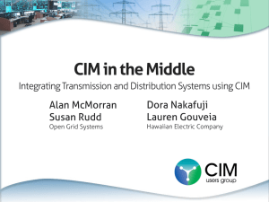 CIM in the Middle - Open Grid Systems