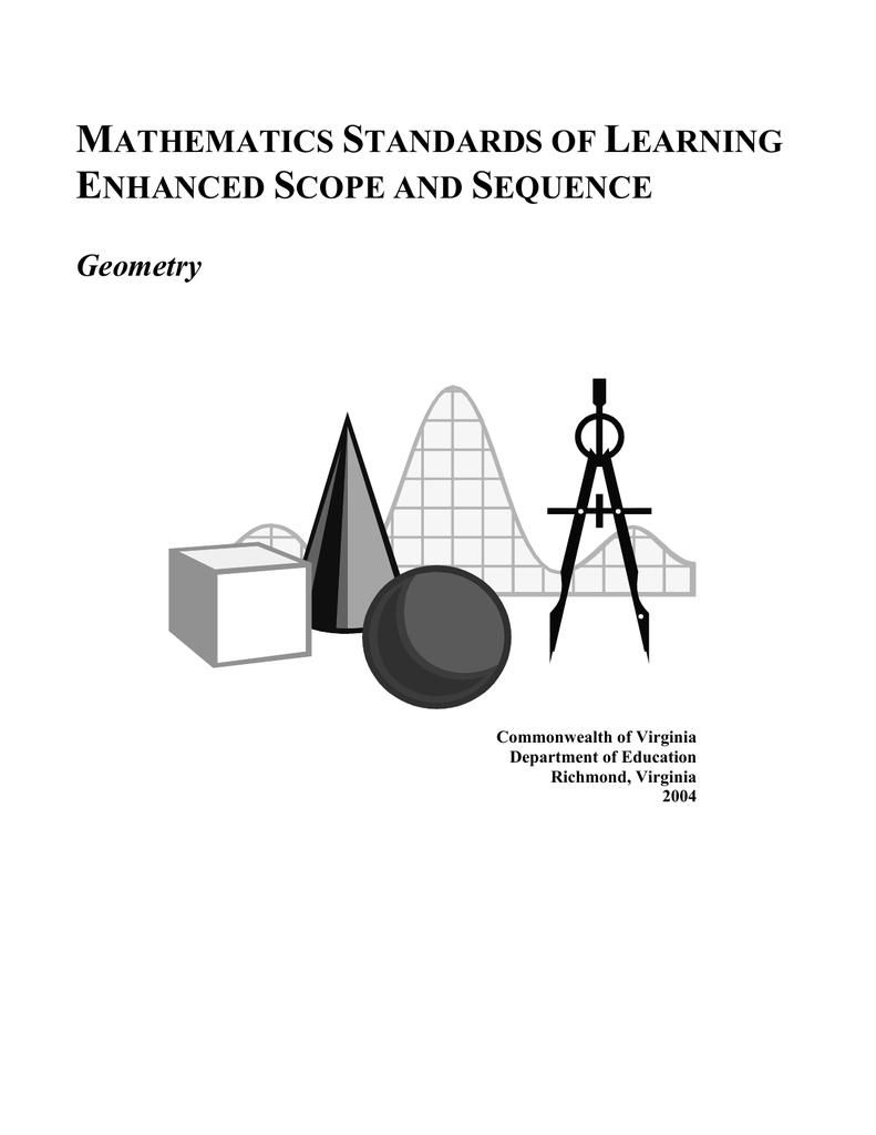 Mathematics Enhanced Sample Scope and Sequence