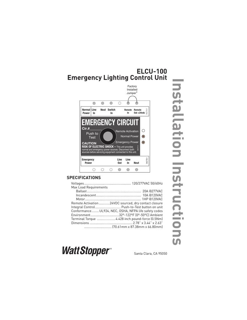 018493033_1 9e2ee6631ca9ba32aef64c14aca45896 elcu 100 emergency lighting control unit wattstopper elcu 100 wiring diagram at crackthecode.co