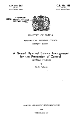 A Geared Flywheel Balance Arrangement for the Prevention of