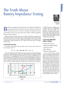 The Truth About Battery Impedance Testing