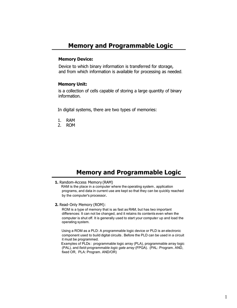 Memory And Programmable Logic Computer Ram Chips With Binary Code A Circuit Board